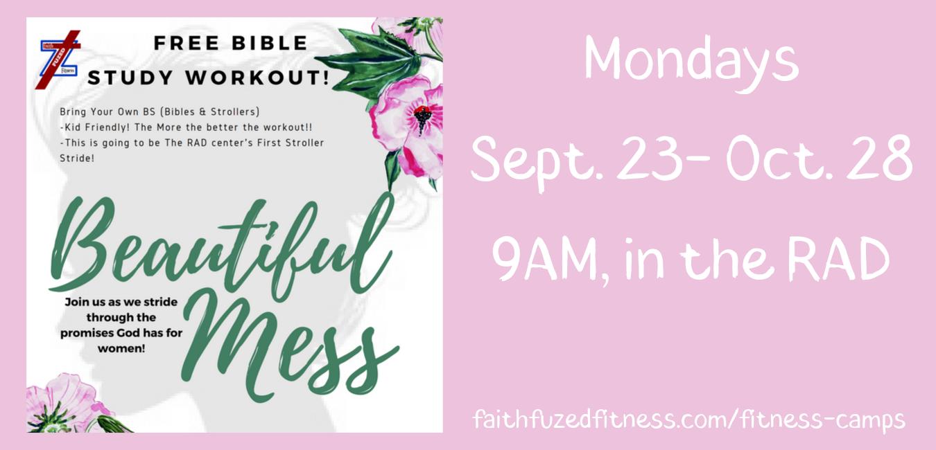 Mondays Sept. 23- Oct. 28 9AM